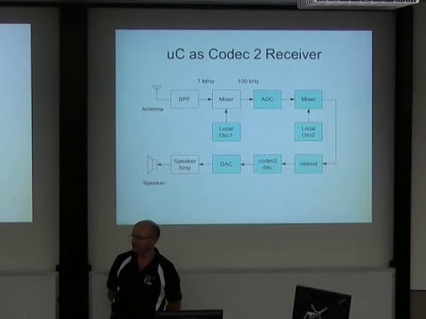 Embedding Codec 2: open source speech coding on a low-cost microcontroller [linux.conf.au 2014]