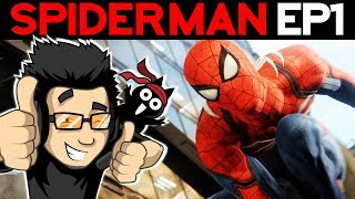 SPIDERMAN PS4 - EPISODE 1 - La découverte !