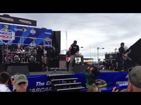 Brantley Gilbert Performs kick It In The Sticks Before The Geico 400 video