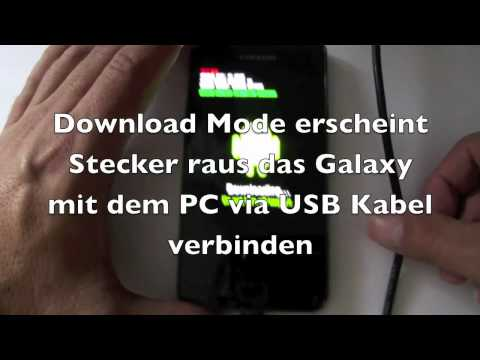 Update auf Android Version 2.3.4 via Odin beim Samsung Galaxy S2 i9100