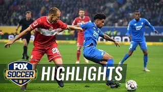 1899 Hoffenheim vs. VfB Stuttgart   2018-19 Bundesliga Highlights