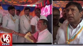 MP Vinod Kumar Participates In Hastakala Camp At Vemulawada