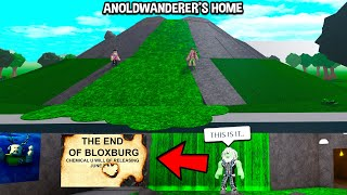 We Found AnOldWanderer's EVIL PLAN.. The END OF BLOXBURG is Coming.. (Roblox)