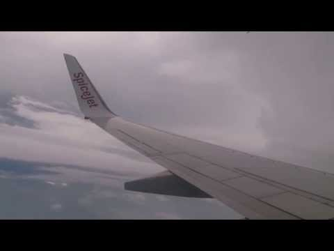 SpiceJet 141 In The Air