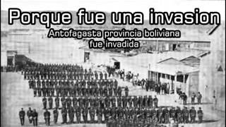 LA INVASION CHILENA A BOLIVIA DE 1879