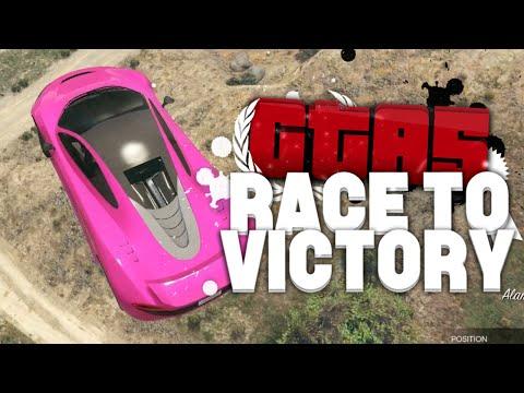HET MEESTE LANGE BEGIN OOIT! (GTA V RACE TO VICTORY S4 #1)