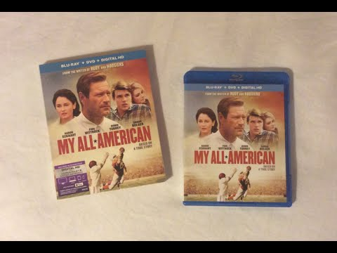 My All American (2015) Blu Ray Review and Unboxing streaming vf