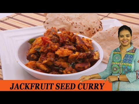 JACKFRUIT SEED CURRY - Mrs Vahchef