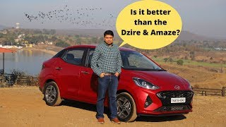 Is the Hyundai Aura India's best compact sedan? Hindi review