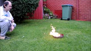 The Burning of 35mm Nitrate Film ( in 1080p HD )