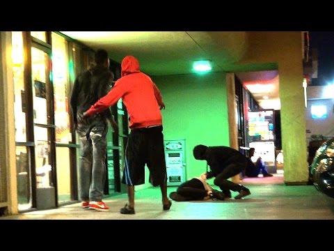 Breaking Strangers Neck Prank!!