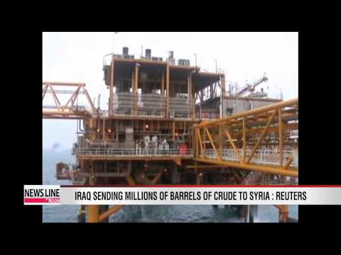 Iraq sending millions of barrels of crude oil to Syria: Reuters