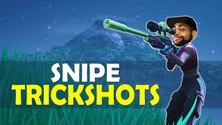 DAEQUAN SNIPE TRICK SHOTS | HIGH KILL FUNNY GAME