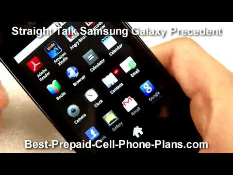 Samsung Galaxy Precedent - Straight Talk Android phone