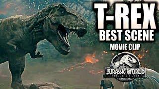 T-REX Best Scene | Jurassic World 2 (2018) Movie Clip | HD | Chris Pratt | Fallen Kingdom