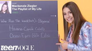 Download Lagu Mackenzie Ziegler Creates the Playlist to Her Life | Teen Vogue Gratis STAFABAND