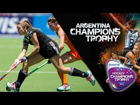 Netherlands vs Germany - Women's  Hockey Champions Trophy 2014 Argentina Quarter Final 1 [4/12/2014]