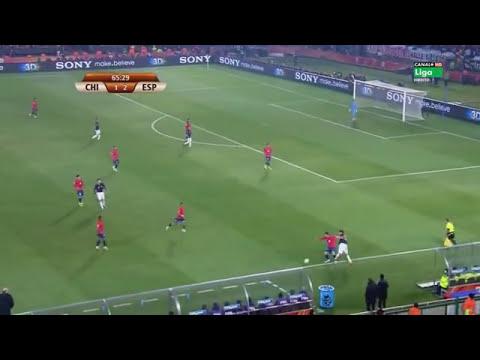 Mundial Sudafrica 2010 Grupo H Chile vs España  Partido Completo
