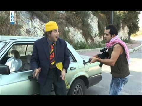 Ktir Salbe show - Episode 14 - أبوعزيز والمربعات الامنية