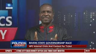 Rivers APC Gov'ship Crisis And Contest For Ticket |Politics Today|