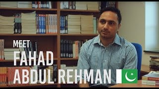 The IBS experience with Fahad Abdul Rehman