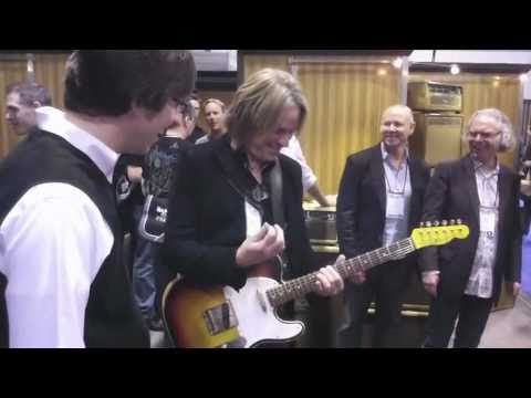 NAMM 2011 ~ Andy Timmons&TransAtlantic TA-30
