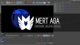 MertAga | Adobe Photoshop (Cinema4D) - 3D / Logo Yapımı