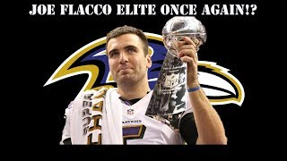 WHY JOE FLACCO COULD HAVE A ELITE SEASON THIS YEAR!
