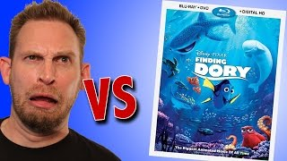 Finding Dory Blu-ray Unboxing
