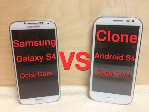 Review Android S4 Clone y comparación con Galaxy S4