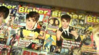 My Justin Bieber bedroom 2011