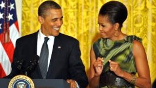 Barack Obama Teases Michelle Obama