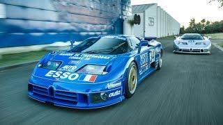 Speciale Bugatti Corse - Le uniche due EB110 da competizione (Le Mans & IMSA) - Davide Cironi (SUBS)