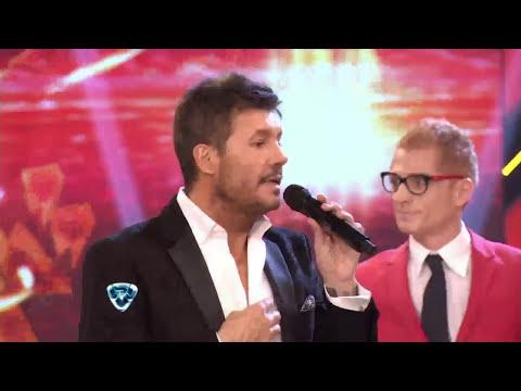 Showmatch 2014 - Martín Liberman le partió la boca a su bailarina