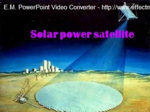 Solar Satellite Power System Ppt Solar Power Satellite Ppt by