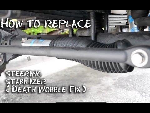 steering damper jeep wrangler death autos post. Black Bedroom Furniture Sets. Home Design Ideas