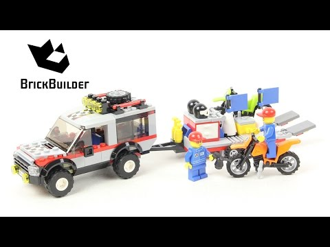 Lego City 4433 Dirt Bike Transporter - Lego Speed Build