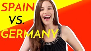 Download Lagu 5 Differences SPAIN VS. GERMANY (by an American) Gratis STAFABAND