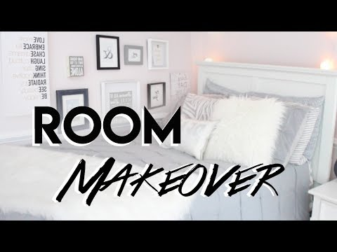 ROOM MAKEOVER+UPDATED ROOM TOUR 2017