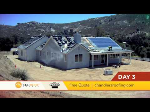 Chandler's Roofing BIPV Solar and Tile Roof Installation - Southern California