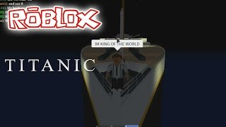 IM KING OF THE WORLD! | Roblox Titanic! | ExoRandy