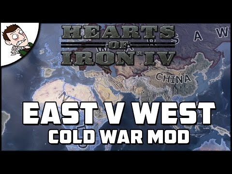 EAST v WEST - Hearts of Iron 4 Cold War Mod Gameplay