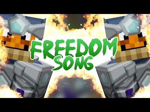 MINECRAFT FREEDOM SONG! (REMAKE)  feat. Paluten & GLP