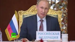 Putin zerfetzt wieder mal die Ami-Propaganda: über IS, Flüchtlingskrise, US-Terrorstaat