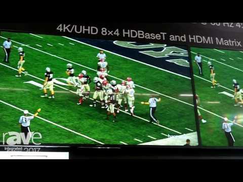 ISE 2017: Atlona Reveals CLSO-840 HDMI Presentation Matrix Switcher
