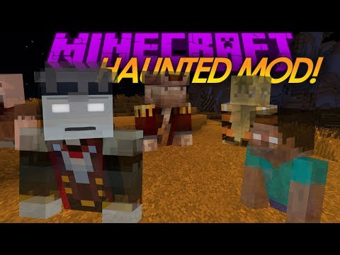 Minecraft Mod Showcase: HAUNTED Mod! (Review)