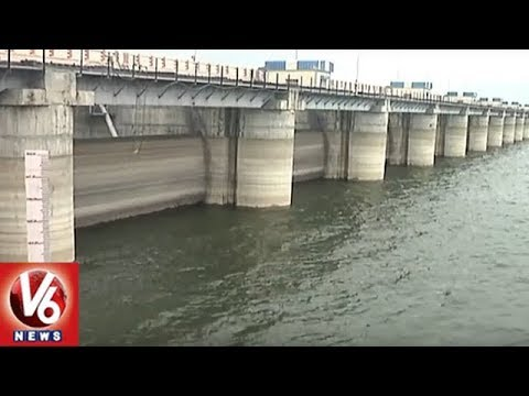 Heavy Inflow Keeps Water Level High In Irrigation Projects Of Adilabad | V6 News