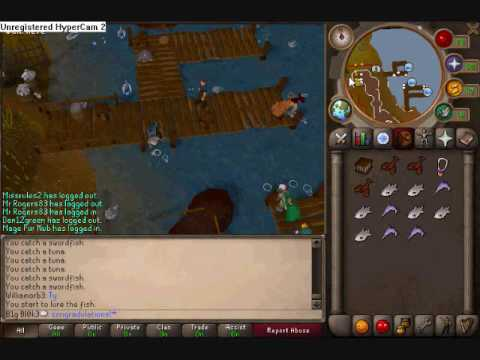 99 Fishing Guide in RuneScape! With commentary!