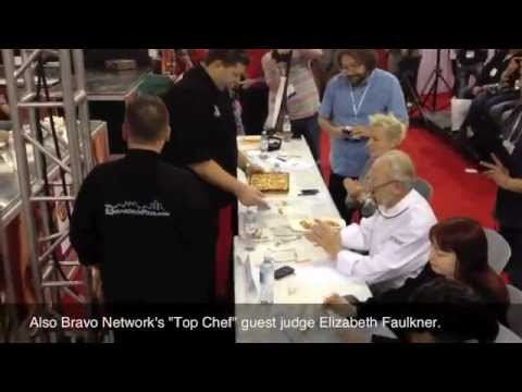 2012 Pizza Expo - Iternational Pizza Challenge - World Champion Pizza Maker