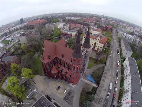 Przelot Nad Dworcem PKS We Wrocławiu